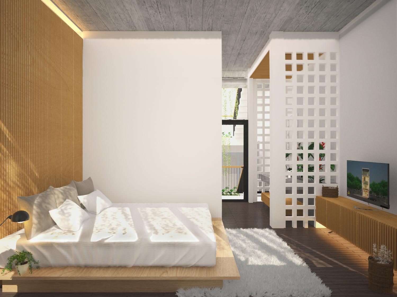phòng ngủ thiết kế độc đáo